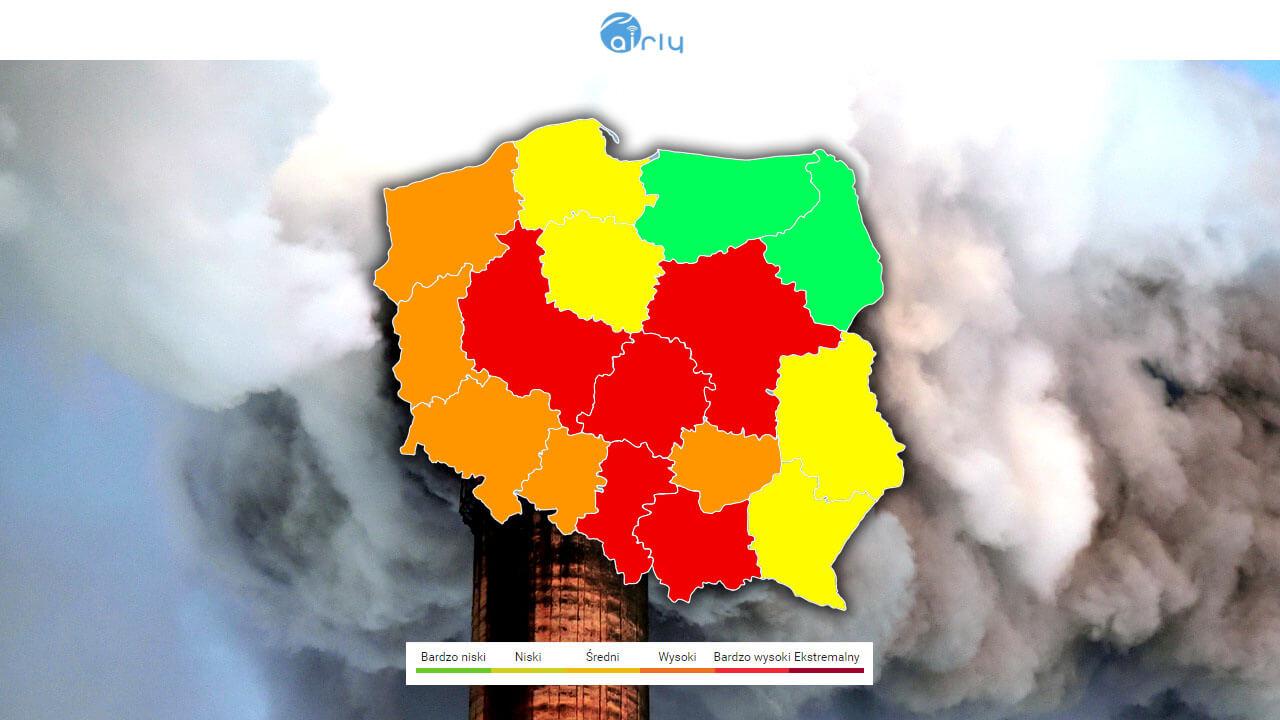 Mapa Jakosci Powietrza Sprawdz Smogowe Info
